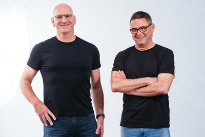 Redis Labs co-founders Yiftach Shoolman, CTO (L) and Ofer Bengal, CEO (R).