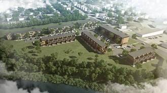 Le Hameau St-Jacques est un projet du Groupe immobilier SMB, le Fonds immobilier de solidarité FTQ et les Fonds régionaux de solidarité FTQ Québec (Groupe CNW/Groupe immobilier SMB)