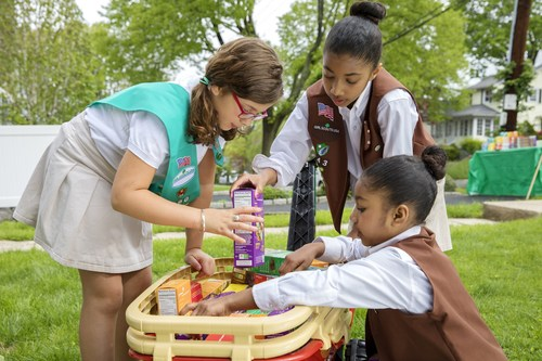 February 22–24, Girl Scouts nationwide will participate in National Girl Scout Cookie Weekend 2019, celebrating the impactful entrepreneurial program that has sparked the success of millions of women. To find Girl Scouts selling cookies near you, visit www.girlscoutcookies.org.