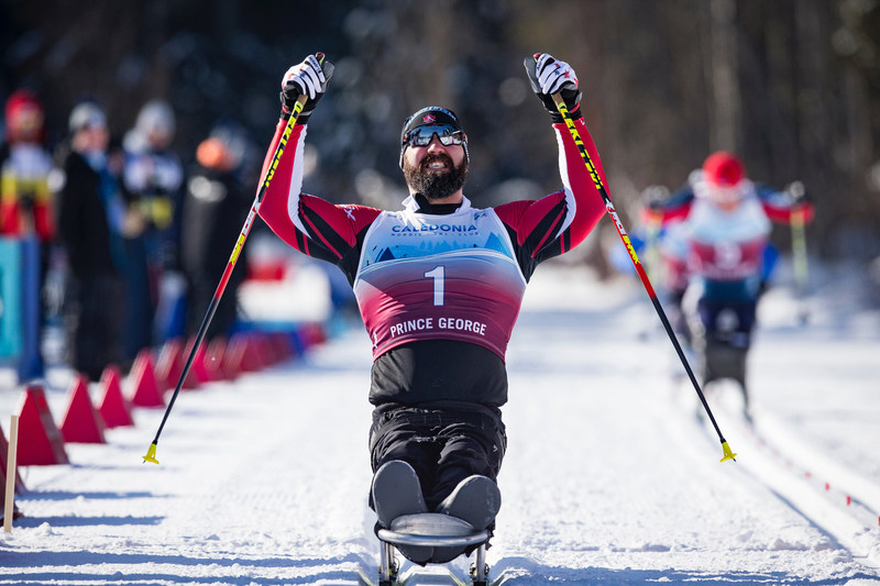Collin Cameron captured his first-ever world championship title at the 2019 World Para Nordic Skiing Championships. PHOTO: Canadian Paralympic Committee (CNW Group/Canadian Paralympic Committee (Sponsorships))