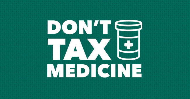 Don't Tax Medicine (CNW Group/Canadians for Fair Access to Medical Marijuana (CFAMM))
