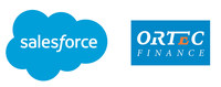Salesforce and Ortec Finance Logo