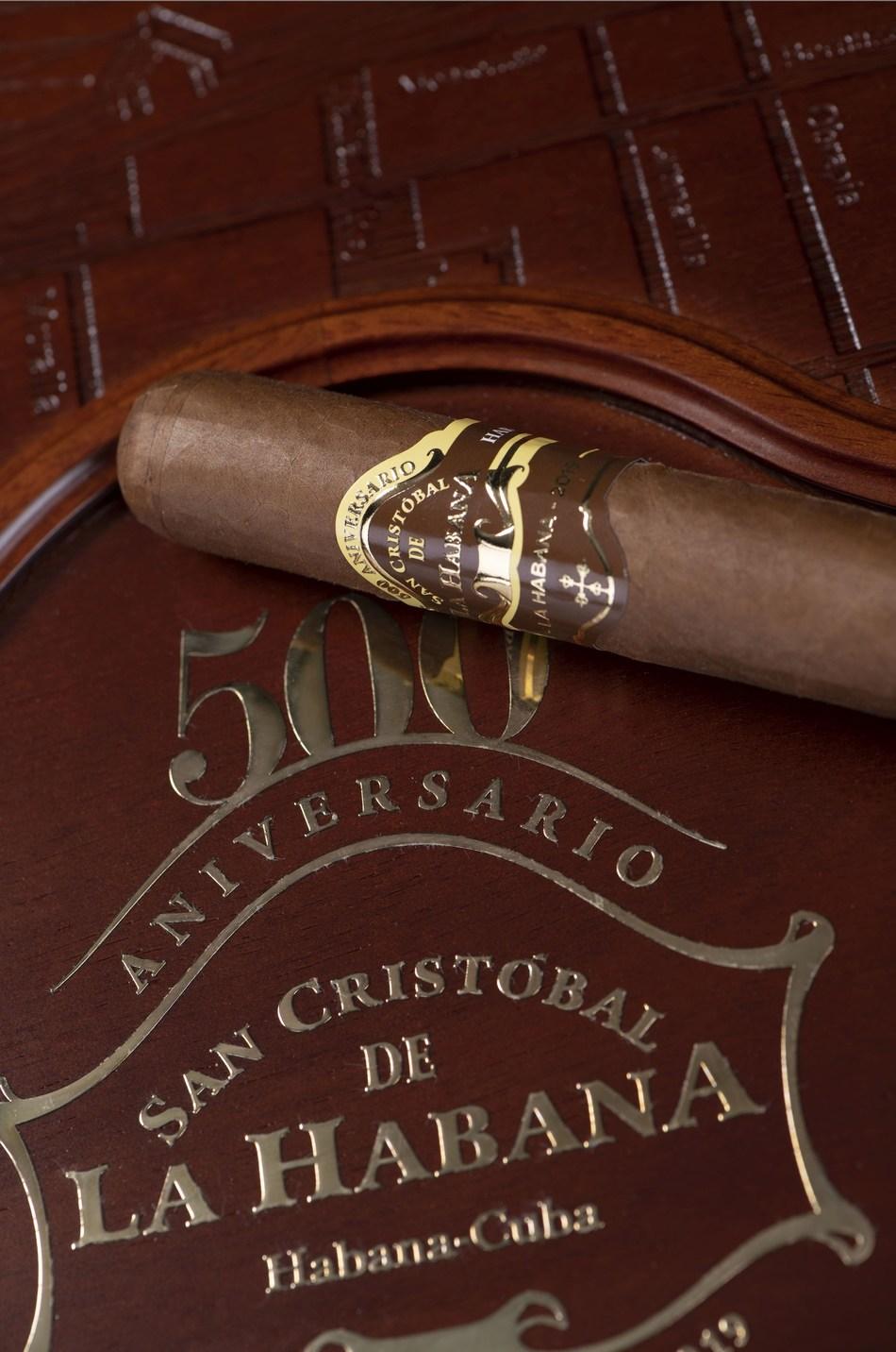 Vitola de San Cristobal de La Habana (500 aniversario) / Vitola of San Cristobal de La Habana (500th anniversary) (PRNewsfoto/HABANOS SA)