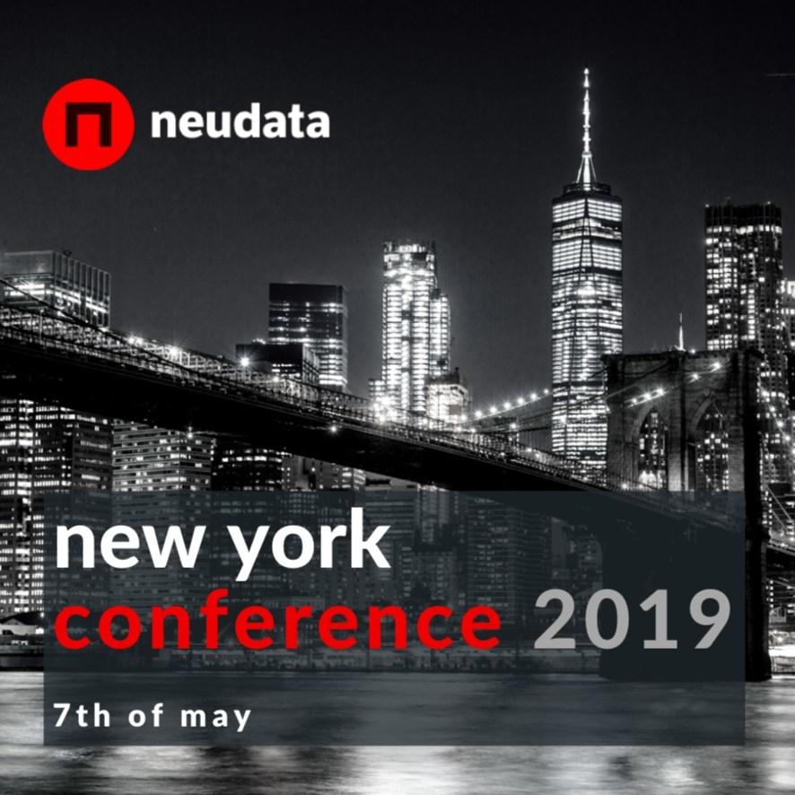 Neudata NYC alternative data conference, 7th May, 2019 (PRNewsfoto/Neudata)