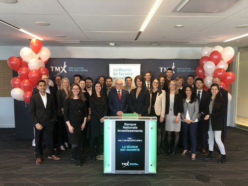 National Bank Investments Inc. Opens the Market (CNW Group/TMX Group Limited)