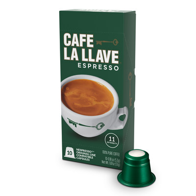 Cafe La Llave Espresso Capsules