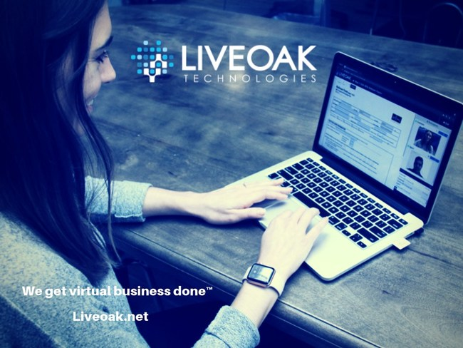 Liveoak Technologies. We get virtual business done™ Liveoak is a virtual customer engagement and business platform that enables your representatives to connect, engage and complete work with customers in a seamless way.