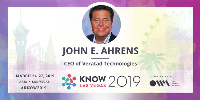 John E. Ahrens Speaking at KNOW Conference 2019