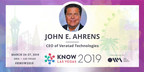 Veratad to Exhibit and Speak at KNOW Conference 2019