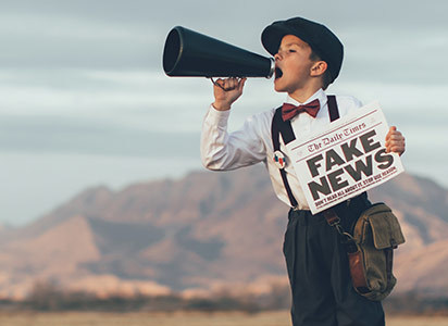 According to new MTM report: 85% of online Canadians report having some level of concern surrounding the impact of fake news in the world today. (CNW Group/The Media Technology Monitor (MTM))