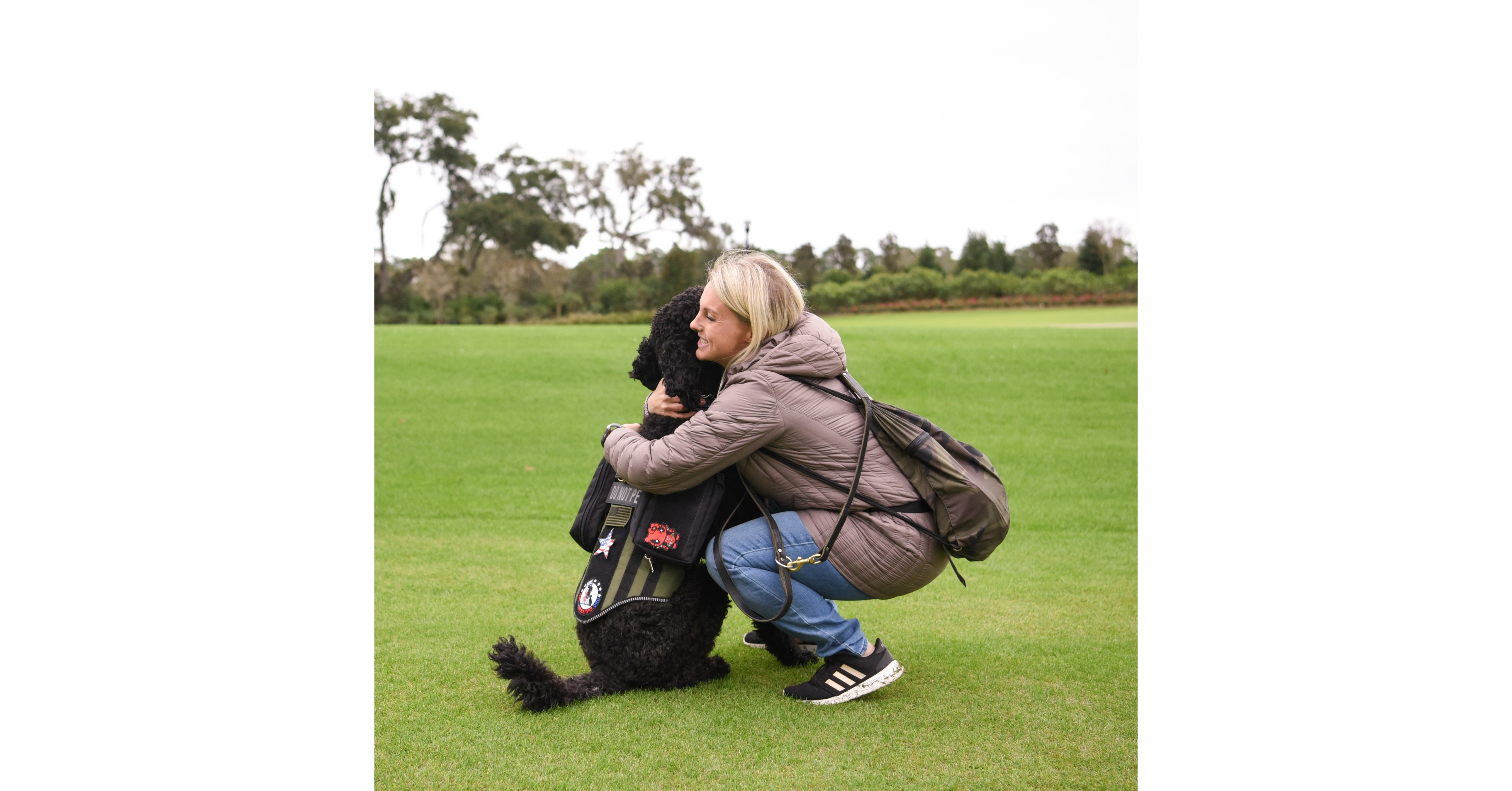 Study finds bond between military veterans and their service dogs unusually strong