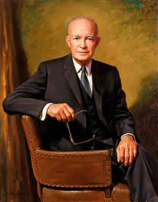 President Eisenhower served as president from January 20, 1953 until January 20, 1961.