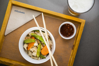 Alaska Lounge at T2 at SFO will feature tasty food options to enjoy in the lounge or to take with you to-go