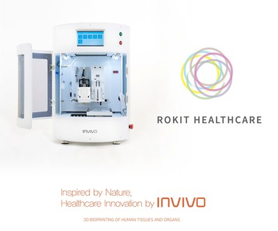 Rokit Healthcare 3D Bio Printer INVINO