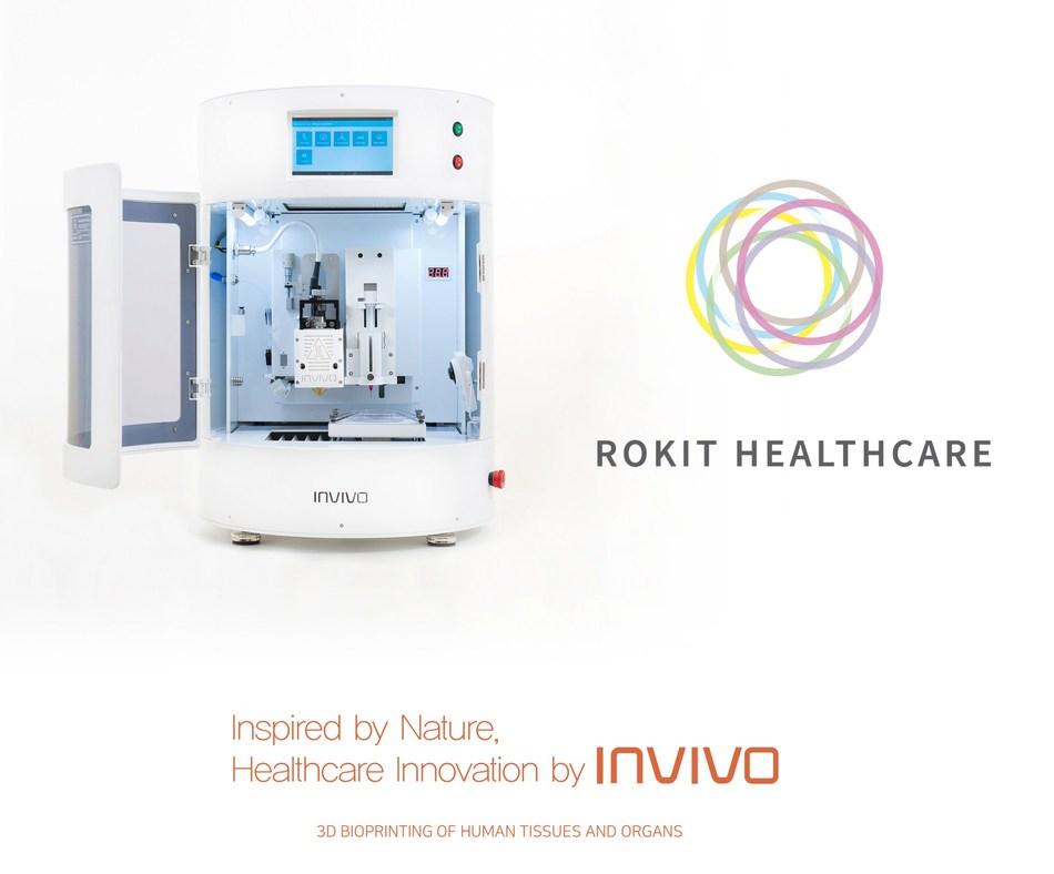 Rokit Healthcare 3D Bio Printer INVINO