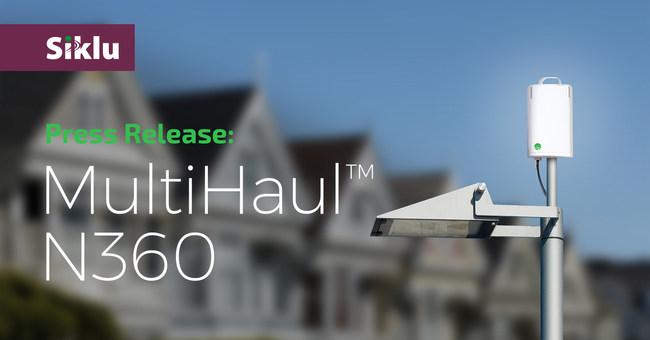 Siklu Announces the Multi-Gigabit MultiHaul™ Mesh Node N360