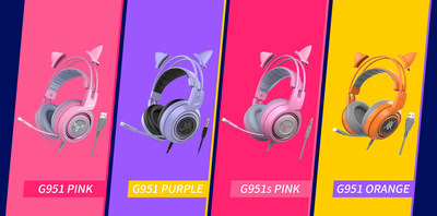 SOMiC Releases 4 New Gaming Headphones for Female Gamers