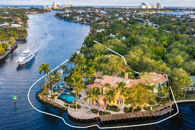 Concierge Auctions And Nash Luxury to Sell Late Businessman And Pro-Sports Team Owner Wayne Huizenga's $27 Million Florida Estate Without Reserve