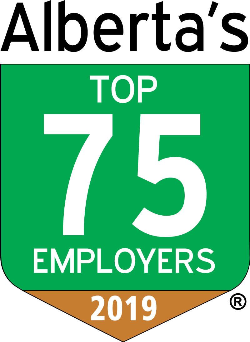 Alberta's Top 75 Employers 2019 (CNW Group/Travel Alberta)