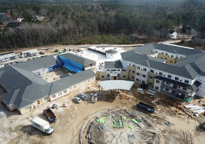 Construction Advances at Watercrest Columbia Assisted Living and Memory Care