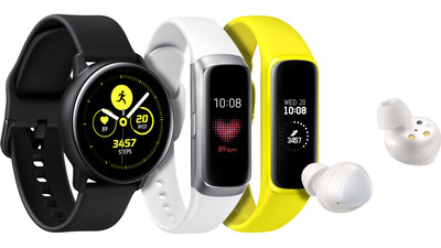 Samsung Introduces Three New Wearables for Balanced and Connected Living (CNW Group/Samsung Electronics Canada)