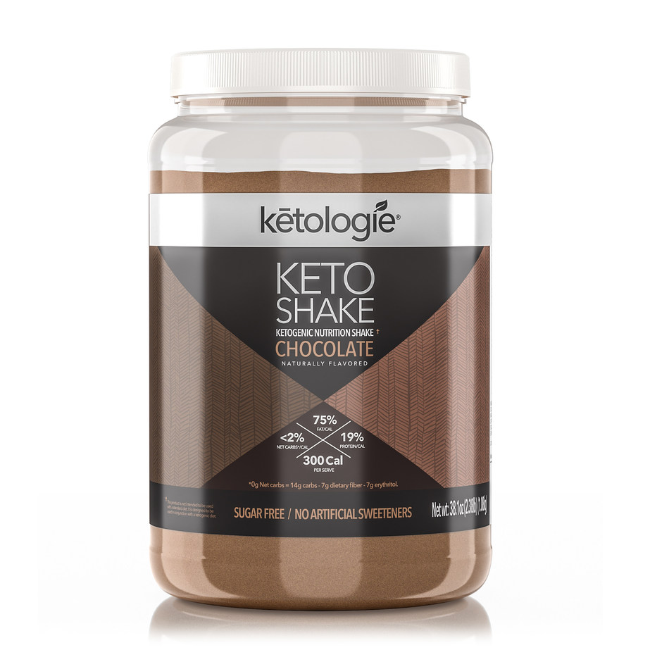Ketologie, a Dallas-based health and wellness company, developed its Keto products to make it easier for people to stay on the diet. In the early days of the Keto Diet, people had to measure all their foods to make sure they ate 75 percent fat, 20 percent protein, and 5 percent carbs. This was not easy for today's busy families. Ketologie set out to change that. To help people make keto a sustainable way of life, Ketologie developed easy-to-use chocolate, vanilla and strawberry shakes, collagen