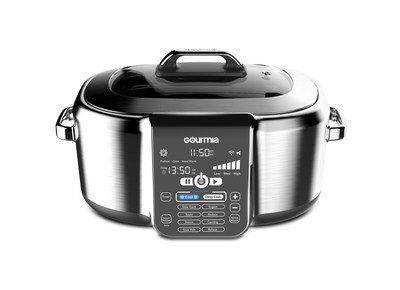Gourmia's new IoT CoolCookers are the perfect solution for today's busy cook - their built-in refrigeration system keeps all of the ingredients fresh and cool until you are ready to cook them. The CoolCookers can be controlled by the Gourmia mobile app (both iOS and Android) and are compatible with both Google Assistant and Amazon Alexa.