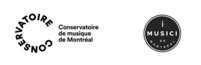 Logos du Conservatoire de musique de Montréal et de l