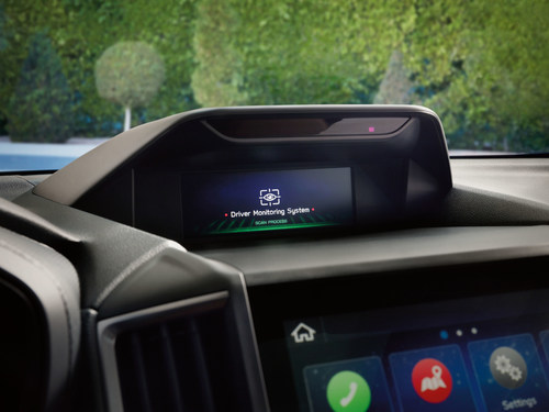 Subaru's innovative DriverFocus Distraction Mitigation System is designed to help address distracted driving and driver fatigue. (CNW Group/Subaru Canada Inc.)