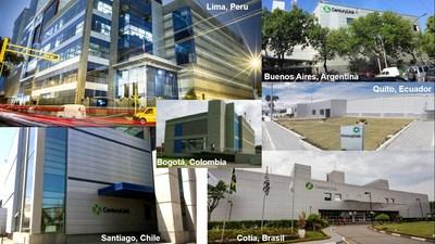 Data Centers da CenturyLink na América Latina