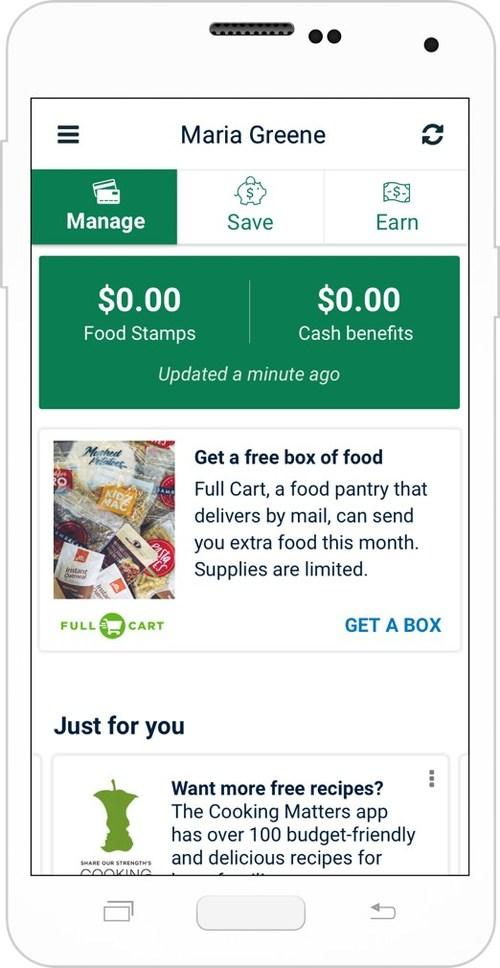 Screenshot of Fresh EBT App