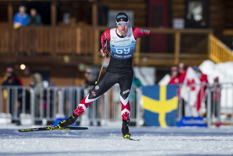 Mark Arendz won his third medal of the 2019 World Para Nordic Skiing Championships. PHOTO: Canadian Paralympic Committee (CNW Group/Canadian Paralympic Committee (Sponsorships))