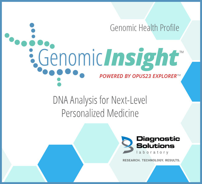 Diagnostic Solutions Laboratory, the Leader in Personalized Functional Medicine