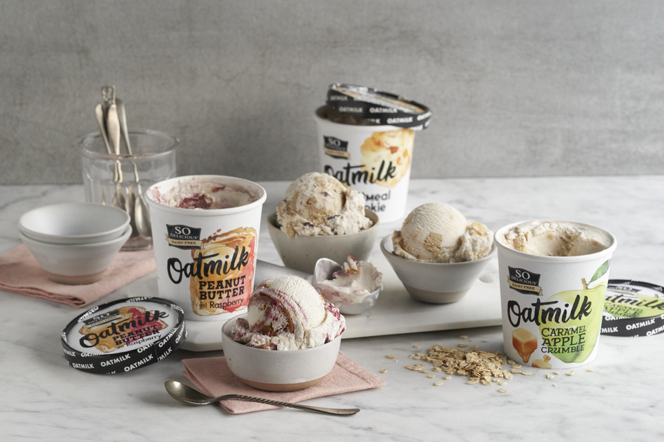 So Delicious Oatmilk Frozen Desserts