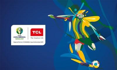 TCL anuncia nova parceria com a CONMEBOL Copa América Brasil 2019