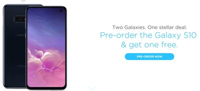 C Spire began accepting customer pre-orders today for the new Samsung Galaxy S10, Galaxy S10+ and Galaxy S10e smartphones that will be available on its 4G LTE network early next month. For a limited time, consumers who switch to C Spire and pre-order the Galaxy S10, Galaxy S10+ and Galaxy S10e can receive a second device free. Existing customers also can receive up to $300 off with a qualifying trade in for one of the new devices.