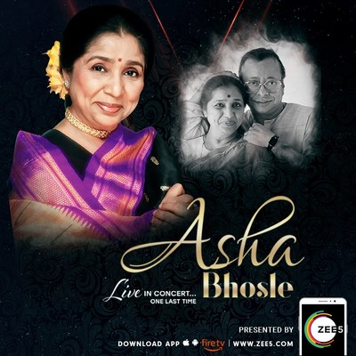 ZEE5 sponsors iconic singer Asha Bhosles global farewell tour in the UK