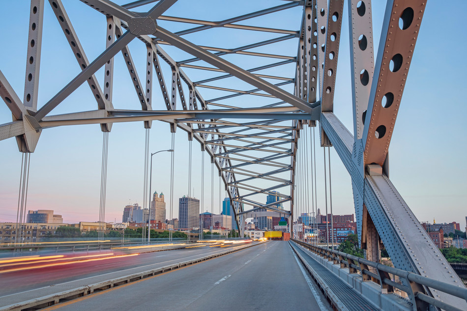 Kansas City's Buck O'Neil Bridge, a critical gateway to the city's downtown, is part of a larger discussion on revitalizing highway infrastructure.