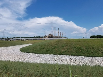 A former ash pond located near Ameren's Meramec Power Station has been closed and now serves as a model for other environmental projects at power facilities throughout the Midwest.