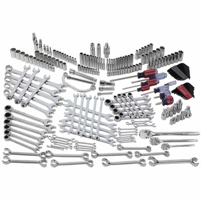 The Craftsman Ultimate Collection is available exclusively at Sears, on sears.com and at Sears Hometown stores. The new professional-grade line was created with input directly from mechanics and is available in 104 piece, 220 piece and 302 piece sets. Shown: the 220 piece Mechanics Service Set.