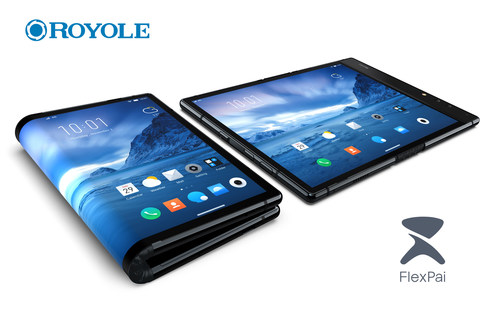Disrupting consumers' traditional concept of a smartphone, FlexPai can be used either folded or unfolded, giving it the portability of a smartphone plus the screen size of a high-definition tablet.