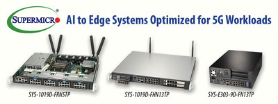 Supermicro Expands Intelligent Edge Product Portfolio to address emerging AI and 5G Technologies