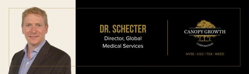 Canopy Growth Appoints Dr. Danial Schecter as Director, Global Medical Services (CNW Group/Canopy Growth Corporation)