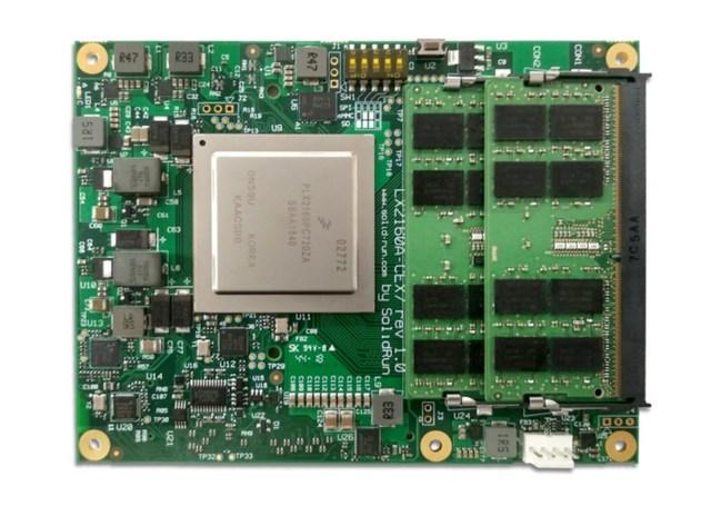 CEx7 LX2160A COM Express type 7 module