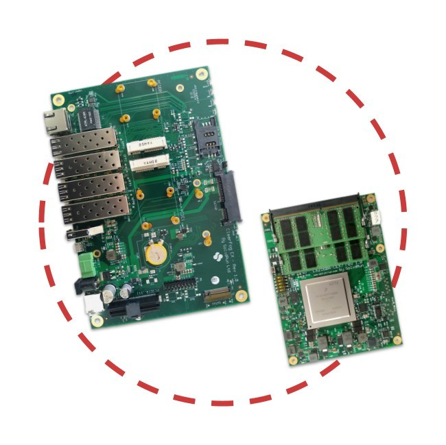 LX2160A Kit - CEx7 LX2160A and ClearFog CX carrier board