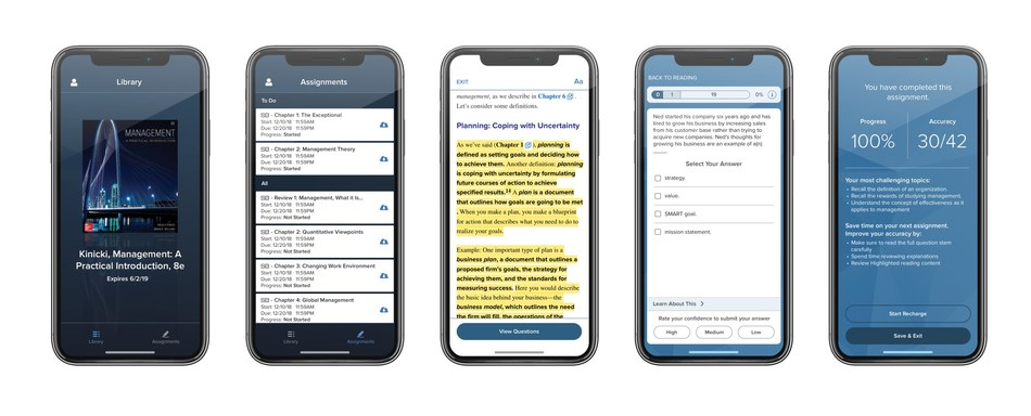 McGraw-Hill Connect with SmartBook 2.0 brings more powerful, personalized learning to millions of college students