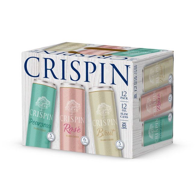 Crispin Cider is launching a new variety pack of wine-inspired ciders featuring three crisp, refreshing flavors: Crispin Rosé, Crispin Brut, and a new flavor, Crispin Pearsecco.