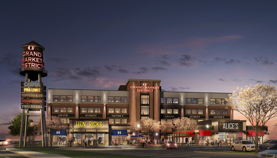 Cadillac Fairview Announces Major Investment to Create Premiere Destination in Kitchener-Waterloo Region with CF Grand Market District project (CNW Group/Cadillac Fairview)