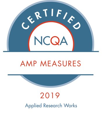 Applied Research Works, Inc. Cozeva Achieves 2019 NCQA AMP Measure Certification?
