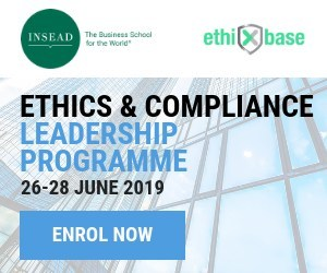 INSEAD, in partnership with ethiXbase, have partnered once more to bring back the Ethics & Compliance Leadership Programme.